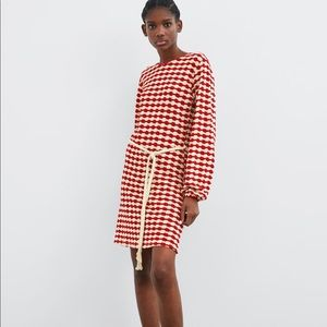 Brand new zara knit dress